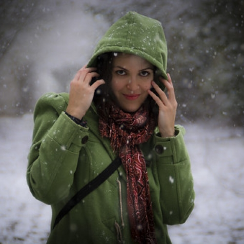 "Caperucita verde cubierta de nieve. • <a style=""font-size:0.8em;"" href=""http://www.flickr.com/photos/132080213@N08/26007164132/"" target=""_blank"">View on Flickr</a>"